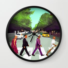 HIPSTORY - Come Together Wall Clock