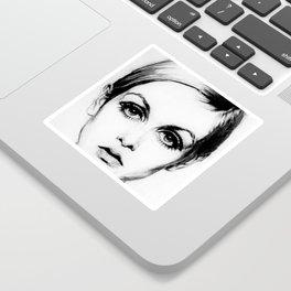 60's Eyelashes Sticker