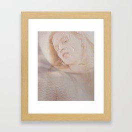 hardest drop Framed Art Print