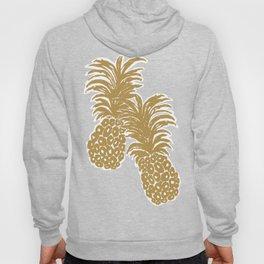 Gold Pineapples Hoody