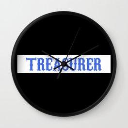 SAMCRO Patch - Treasurer Wall Clock