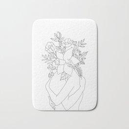 Blossom Hug Bath Mat