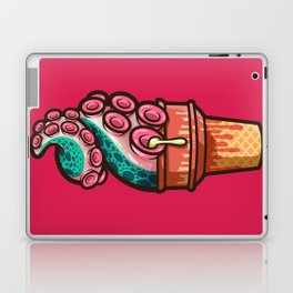 Swirly Tentacle Treat (gumdrop) Laptop & iPad Skin