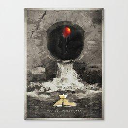 Stephen King's IT Canvas Print
