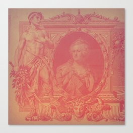 Pink Ruble Canvas Print