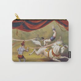 Banner Act - Vintage Circus Art, 1873 Carry-All Pouch