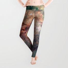 Tarantula Nebula Leggings