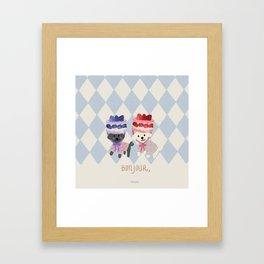 Sweetness Overload Framed Art Print