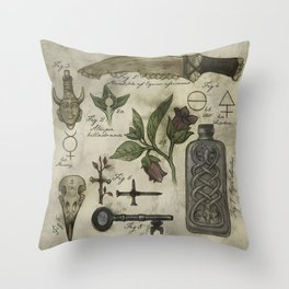 (Super)natural History - 01 Throw Pillow