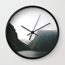 Doubtful Sound Wall Clock