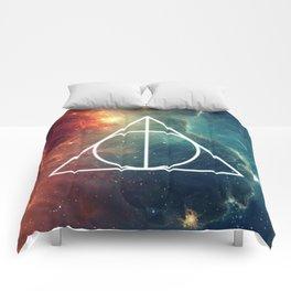 Deathly Hallows Nebula HP Comforters