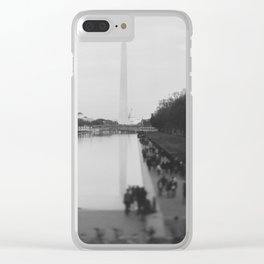 The National Mall II Clear iPhone Case