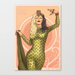 Sharon needles Canvas Print
