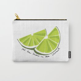 Lime in the Coconut Carry-All Pouch