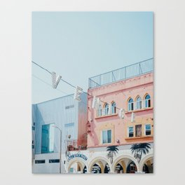 Venice Beach Sign in Los Angeles Canvas Print
