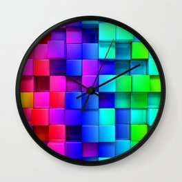 Cubical Wall Clock