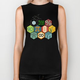 Math in color Biker Tank