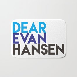 Dear Evan Hansen Bath Mat