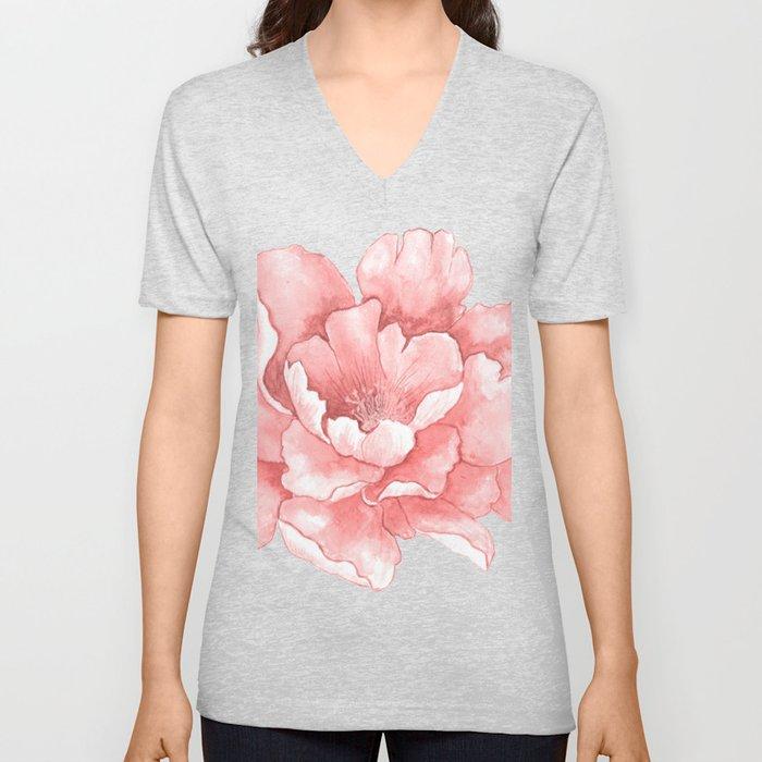 Beautiful Flower Art 21 Unisex V-Neck