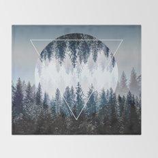 Woods 4 Throw Blanket