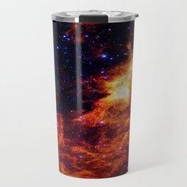 Fiery gAlAXy Indigo Stars Travel Mug