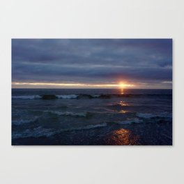 Sunset Sizzle Canvas Print