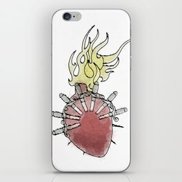 Sorrowful Mother's Heart iPhone Skin
