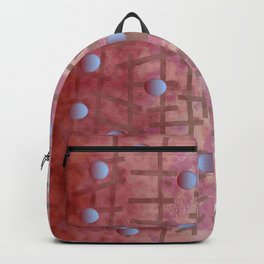 Polka dot et Line Backpack