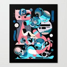 Poohhgffn Canvas Print
