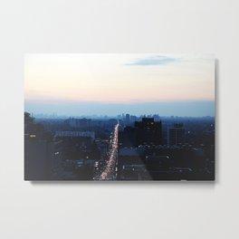 Bloor Street Lights Metal Print