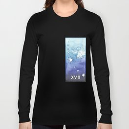 Tarot 17: The Star Long Sleeve T-shirt