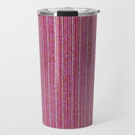 Pink Roses in Anzures 1 Knit 2 Travel Mug