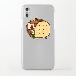 Puglie Taco Clear iPhone Case