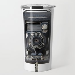 Vintage Autographic Kodak Jr. Camera Travel Mug