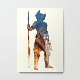 Gladiator Metal Print