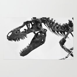 Tyrannosaurus Rex Skeleton Rug