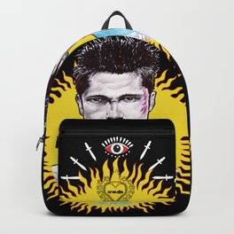 Tyler Durden flames Backpack