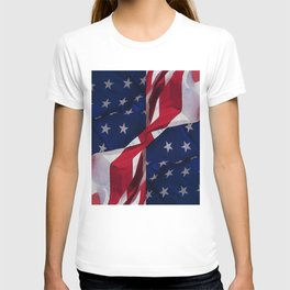 RED, WHITE AND BLUE T-shirt