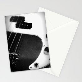 Bass Guitar - I Stationery Cards