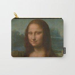 Mona Lisa Classic Leonardo Da Vinci Painting Carry-All Pouch
