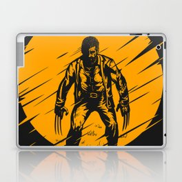 Yellow Logan Laptop & iPad Skin