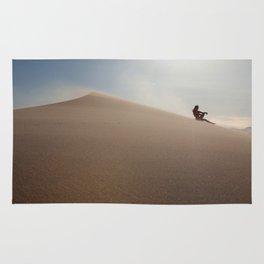 Sunset at Eureka Sand Dunes Rug