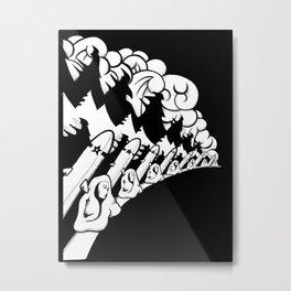 Ocean Rockets Metal Print