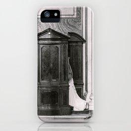 Italian confession iPhone Case