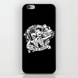We All Go To Hell iPhone Skin