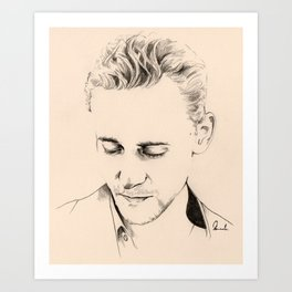Minimal Tom Art Print