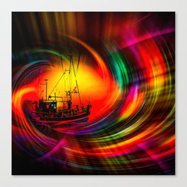 Time- Tunel100 Canvas Print