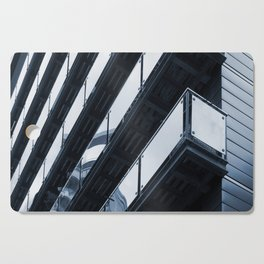 modern architecture - balconies Cutting Board