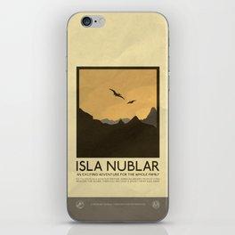 Silver Screen Tourism: Isla Nublar / Jurassic Park World iPhone Skin