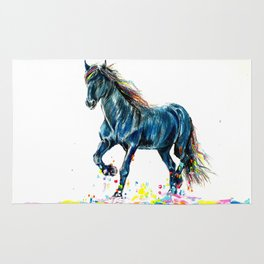 Color Run Rug